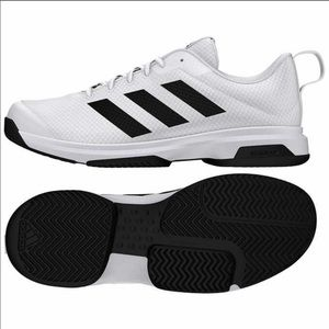 Adidas Mens 3 Stripe Athletic Tennis Shoes NEW